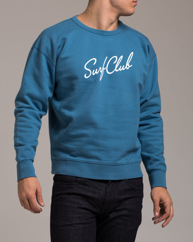 New Wave Sweatshirt - Color: Sea Blue | Blue