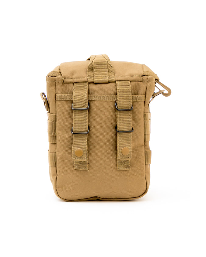 Tactical Shoulder Bag - Color: Coyote Brown | Brown