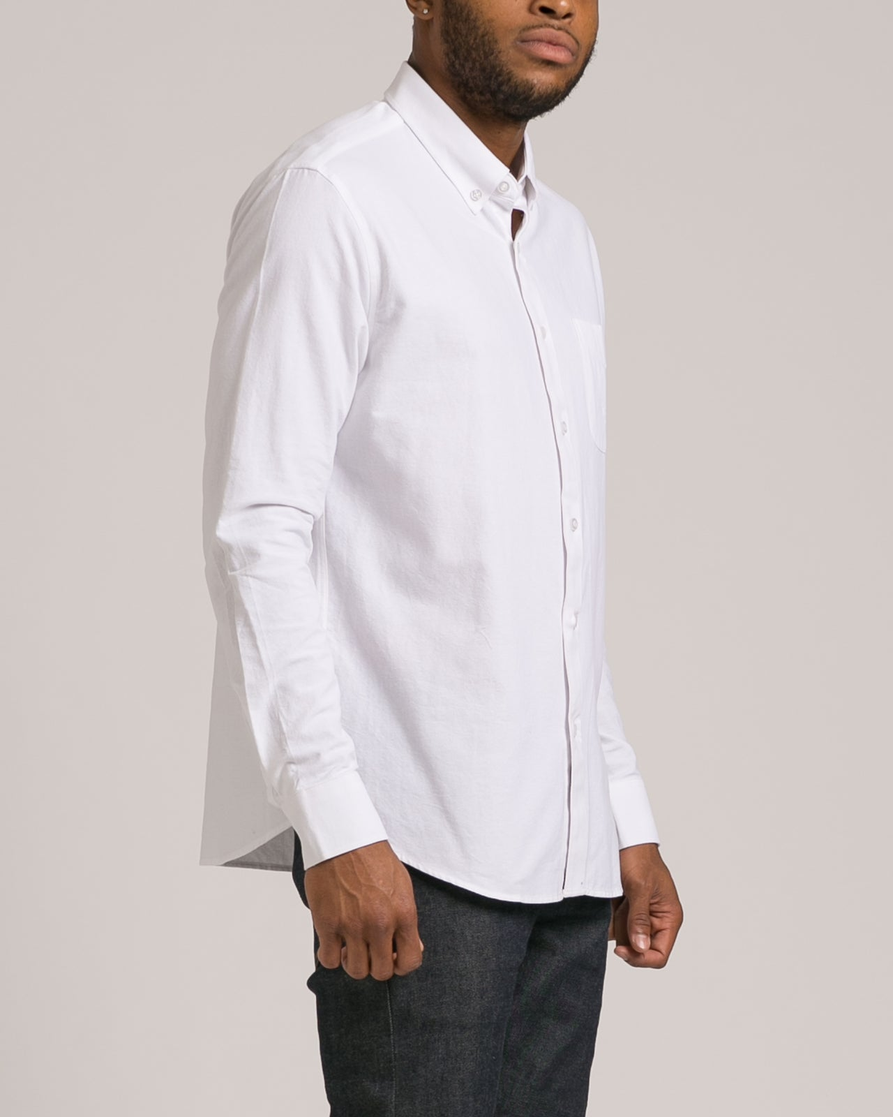 Classic Oxford Shirt - Color: White | White