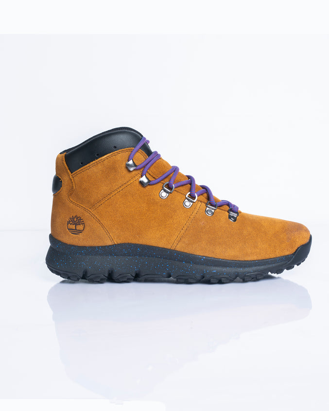 World Hiker Mid - Color: Medium Brown Suede | Beige
