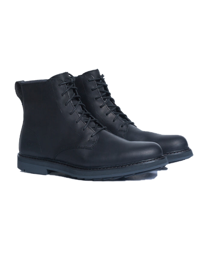 Squall Canyon Plain Toe Boo - Color: Black Full Grain | Black