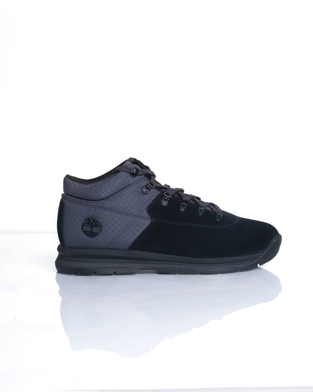 GT Rally Mid - Color: Black Suede | Black