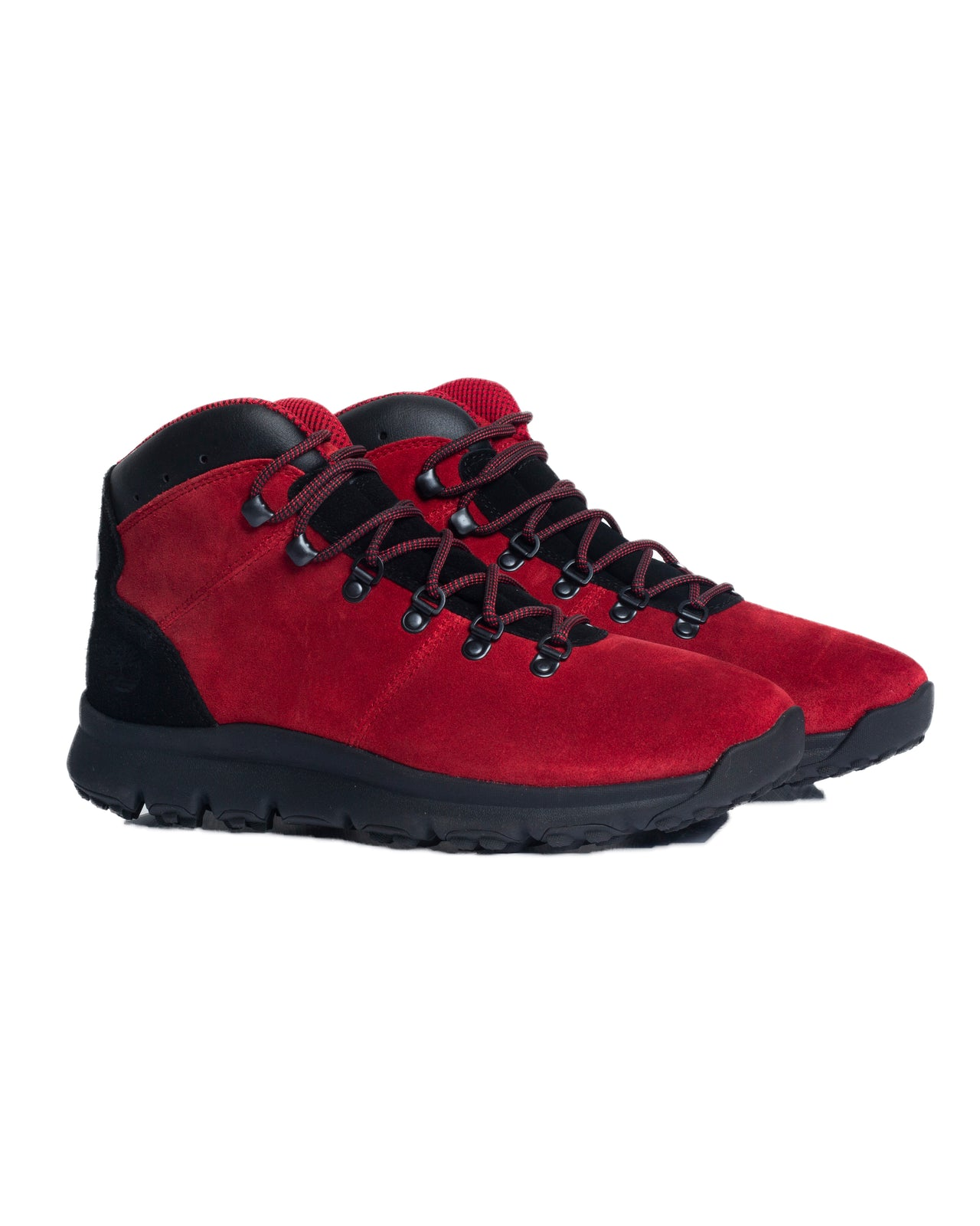 World Hiker Mid - Color: Medium Red Suede | Red