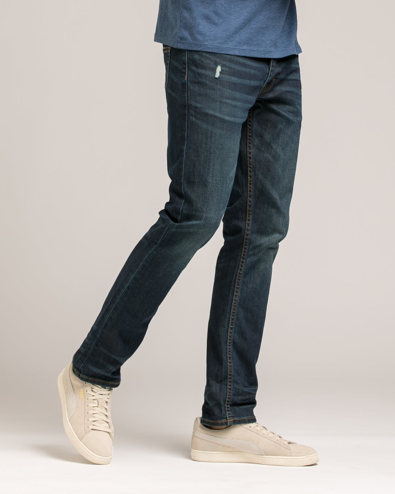 Slim Stretch Core Denim - Color: Dark Wash | Blue
