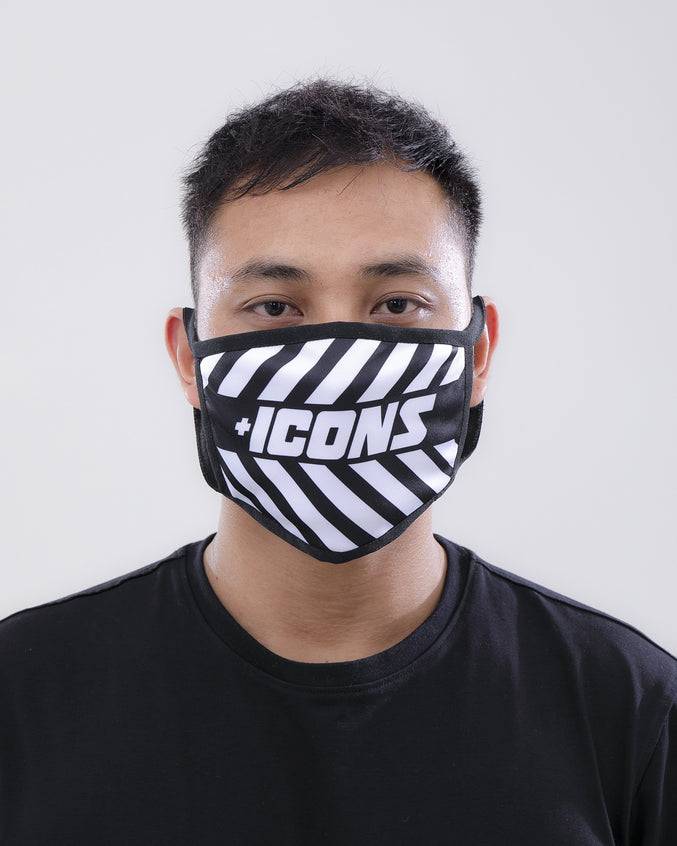 Icons Face Mask - Color: White | White