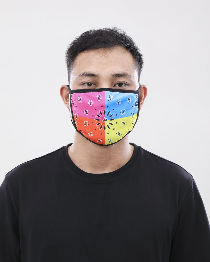 Multi Paisley Face Mask