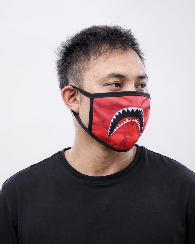 SHARKMOUTH FACE MASK
