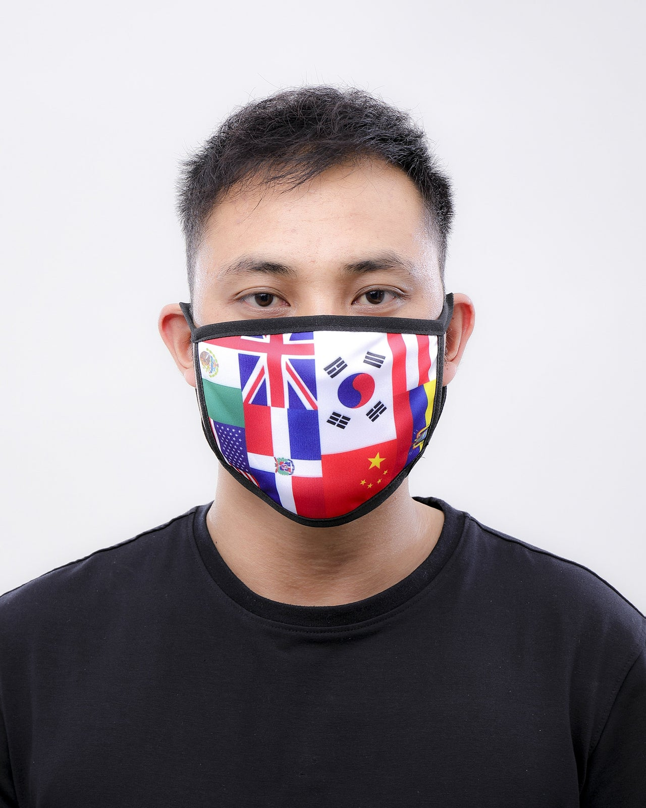 International Flag Face Mask