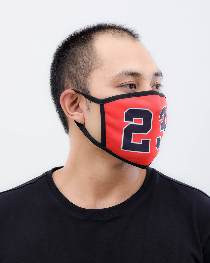 Goat Face Mask - Color: RED | RED