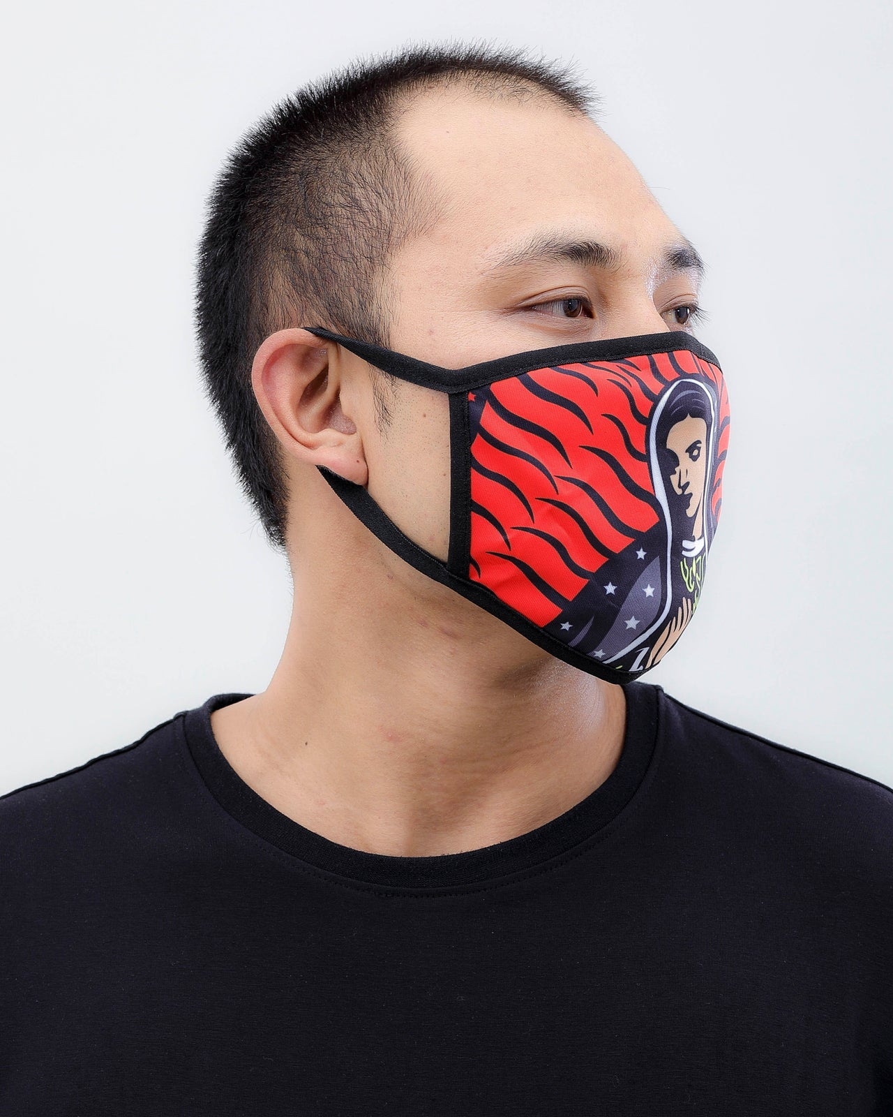 Pray Face Mask - Color: Red | Red