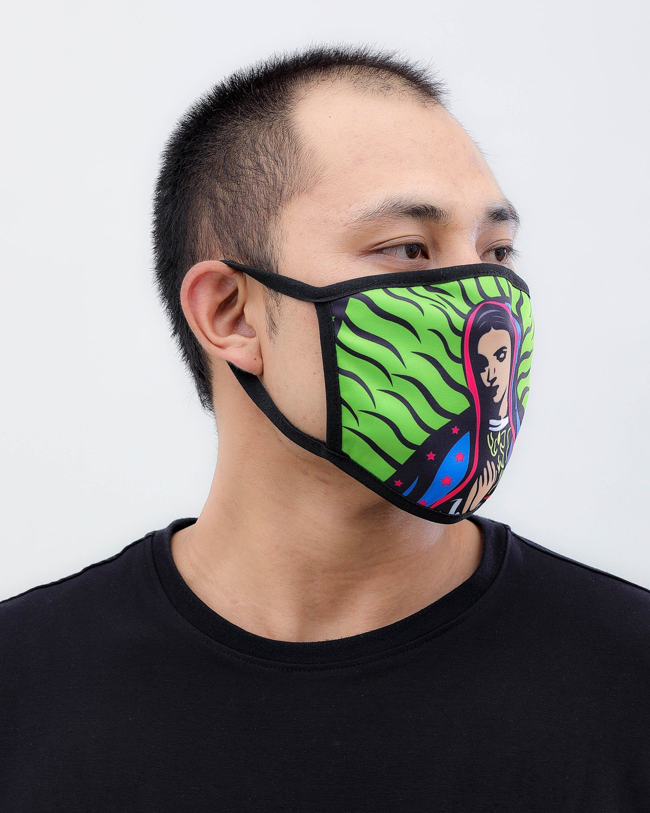 Pray Face Mask - Color: Volt | Volt