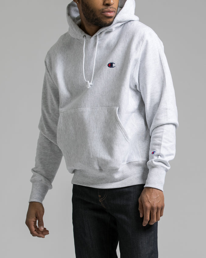 Reverse Weave Hoody - Color: silver Grey | Gray