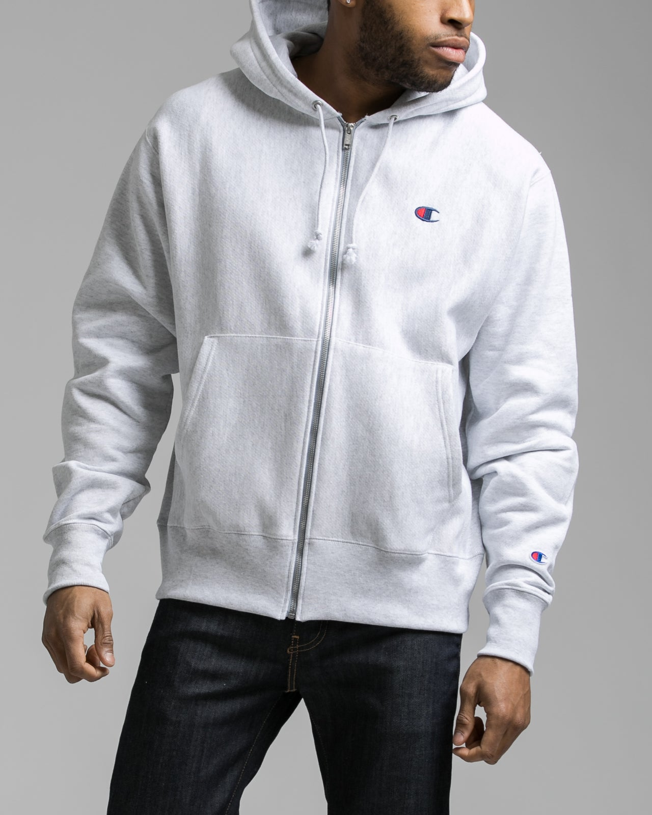 918a33b6d995 Reverse Weave® Full Zip Hoodie - Color  GFS Silver Grey