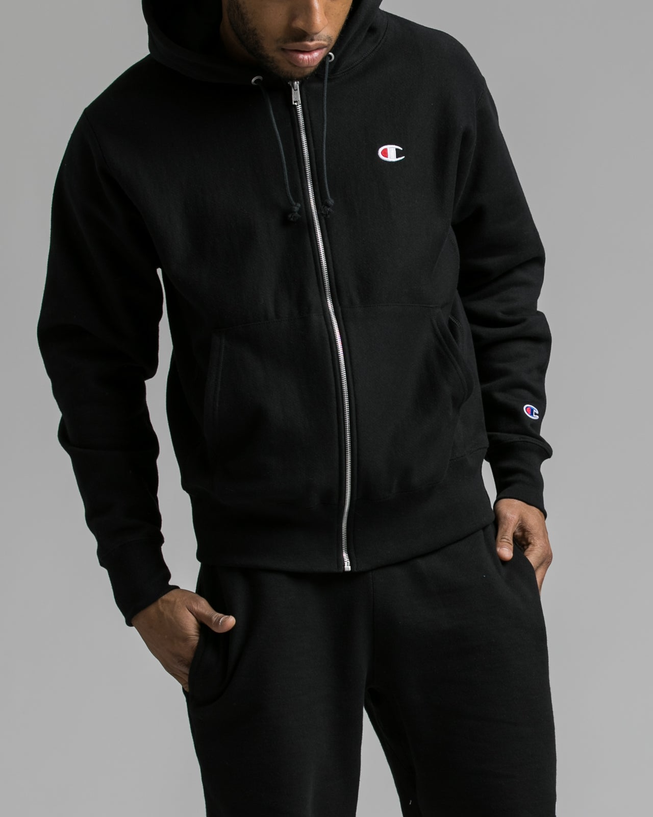 e932c5b03986 ... Reverse Weave® Full Zip Hoodie - Color  Black