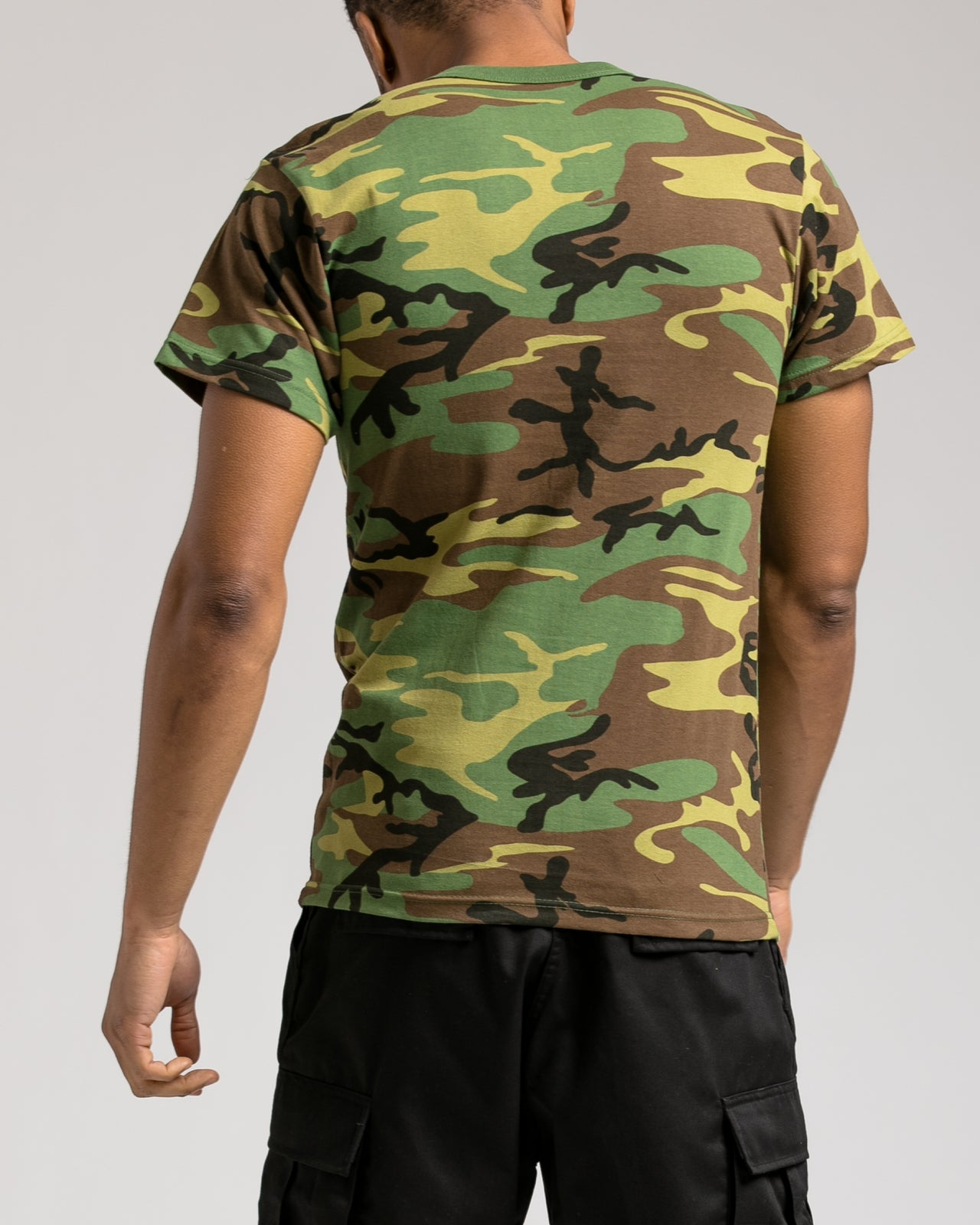 Camo Tee - Color: Woodland Camo | Green