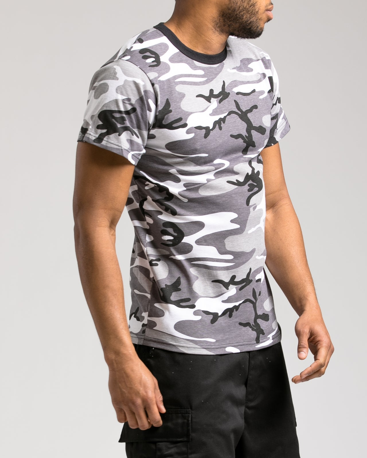 Camo Tee - Color: City Camo | Gray