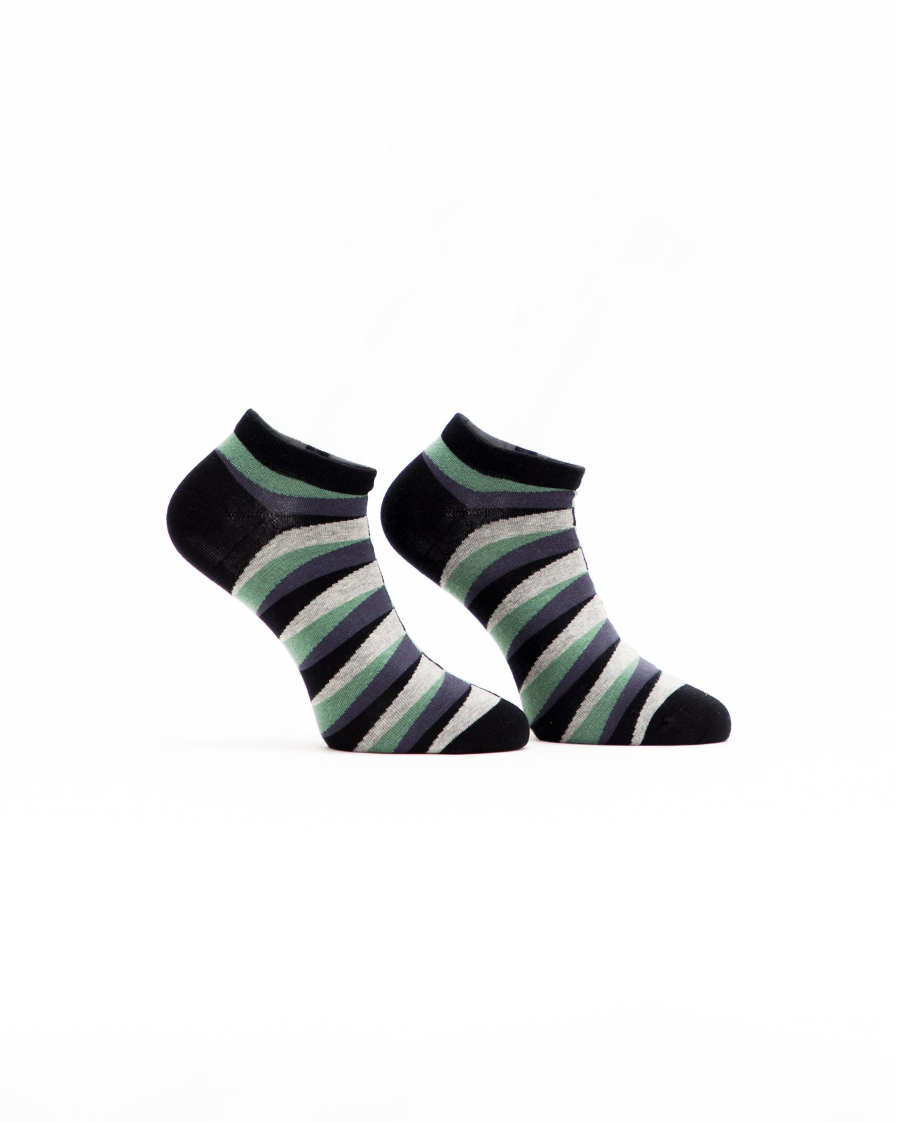 Retro Ankle Sock - Color: Green | Green