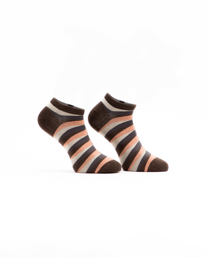 Retro Ankle Sock - Color: Orange | Orange