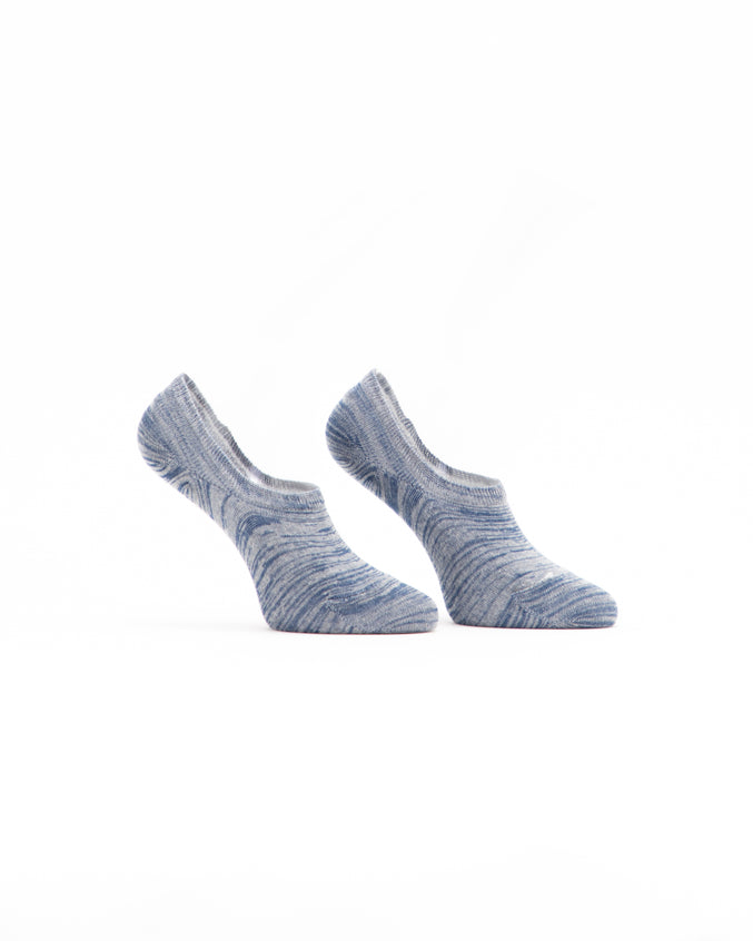 No Show Marl Sock - Color: Blue Marl | Blue
