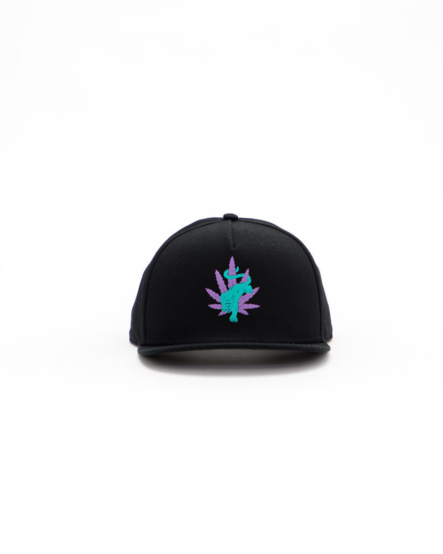 Blacklight Panther Snapback