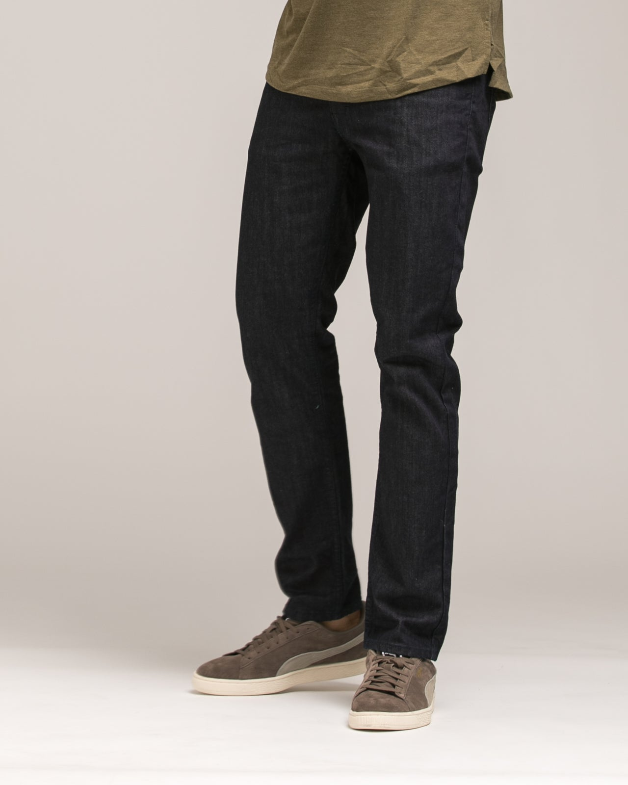 Slim Stretch Core Denim - Color: Indigo Rinse | Blue