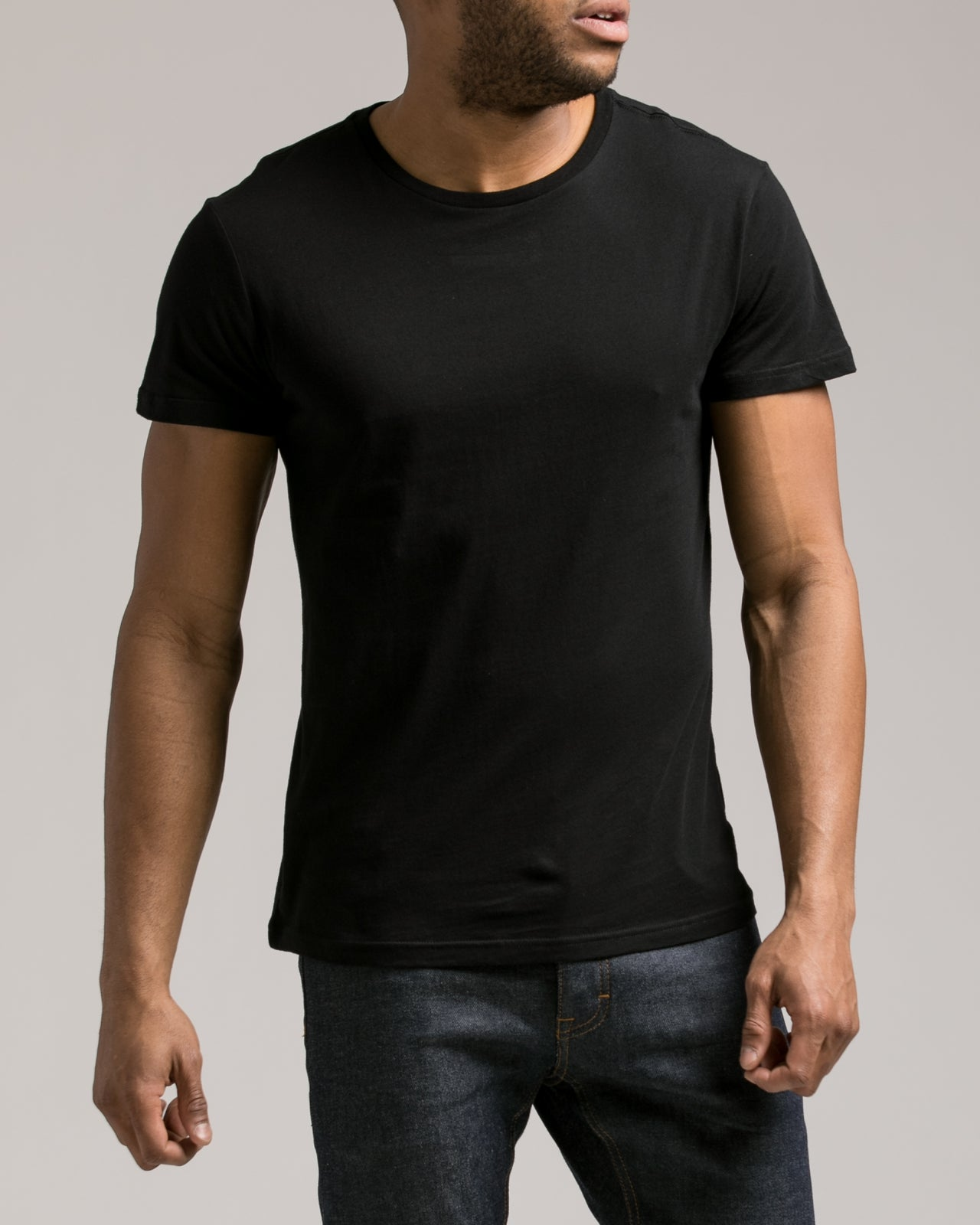 The Daily Tee 2.0 - Color: Black | Black