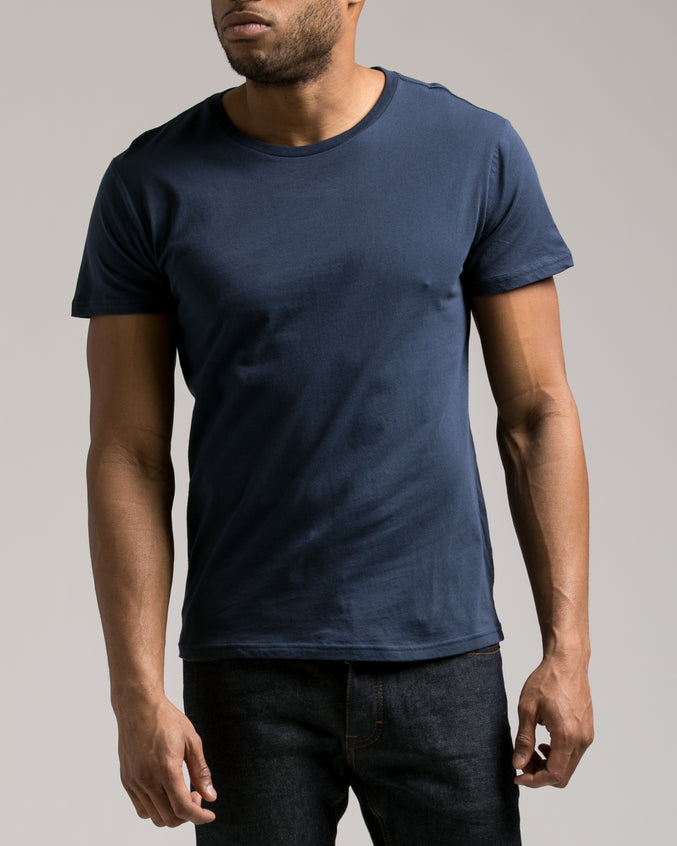 The Daily Tee 2.0 - Color: Navy | Blue