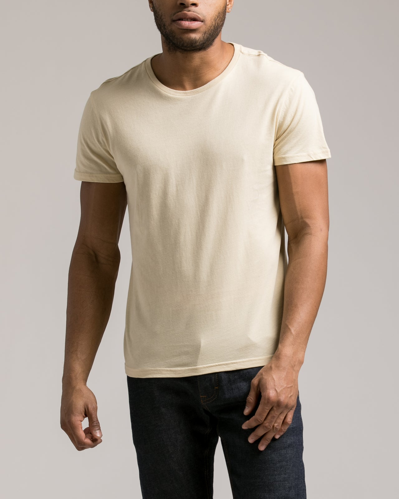 The Daily Tee 2.0 - Color: Khaki | Beige