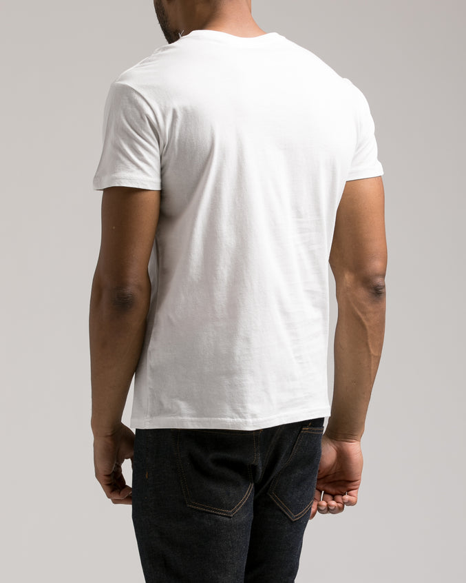 The Daily Tee 2.0 - Color: White | White