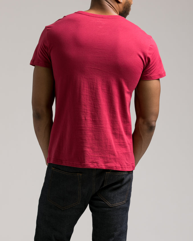 The Daily Tee 2.0 - Color: Wine | Red