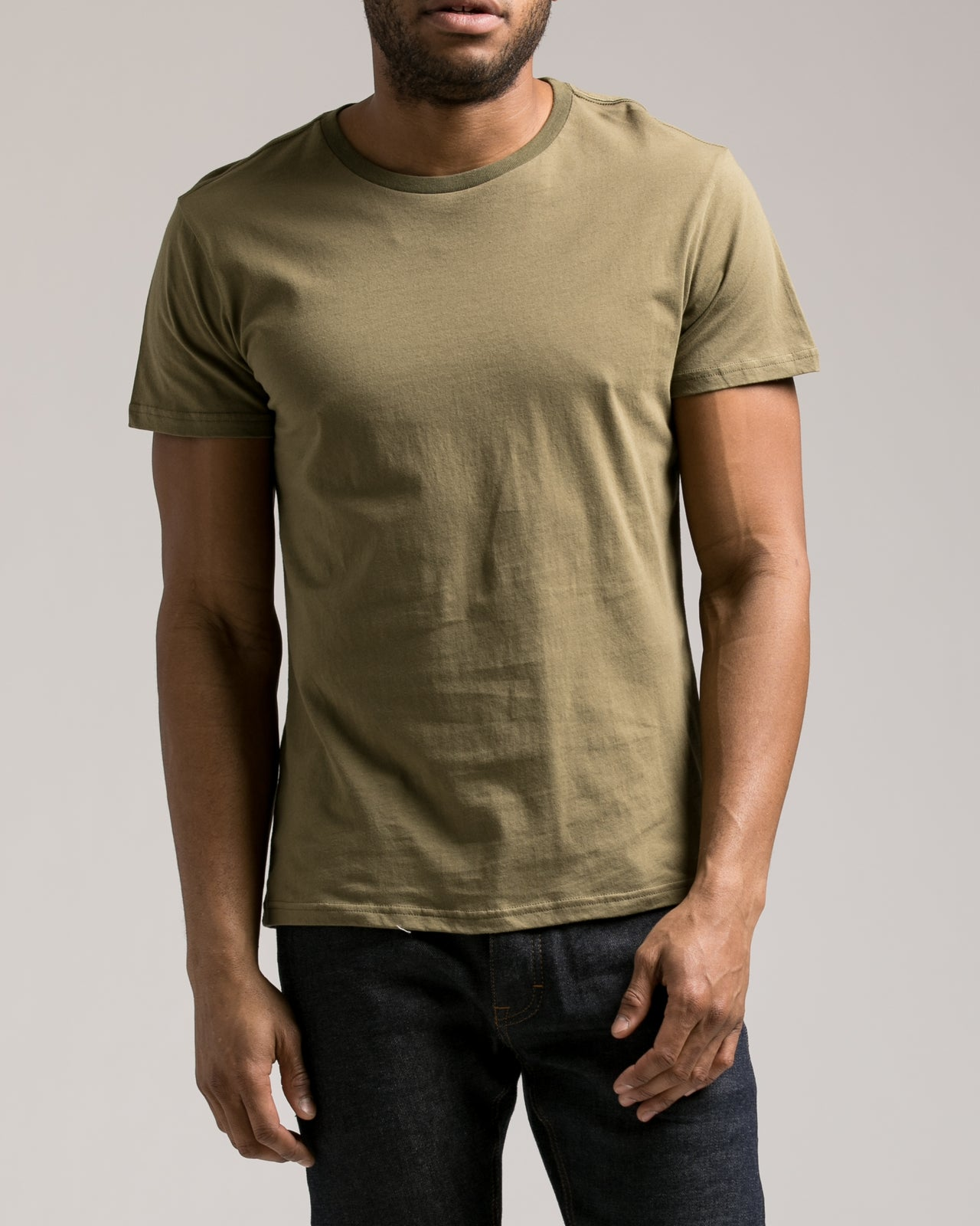 The Daily Tee 2.0 - Color: Olive | Green