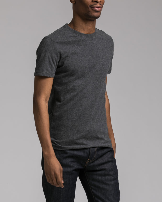 Slim Tee - Color: Charcoal | Gray