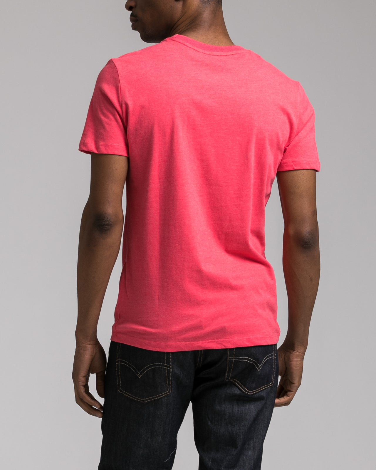 Slim Tee - Color: Faded Red | Red
