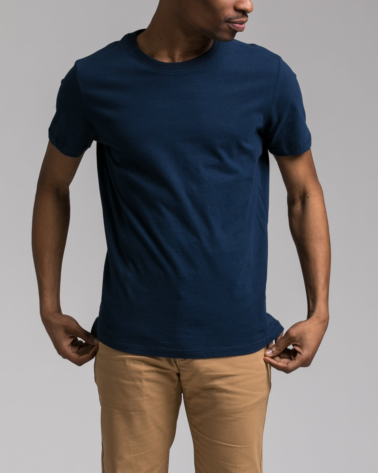 Slim Tee - Color: Navy | Blue