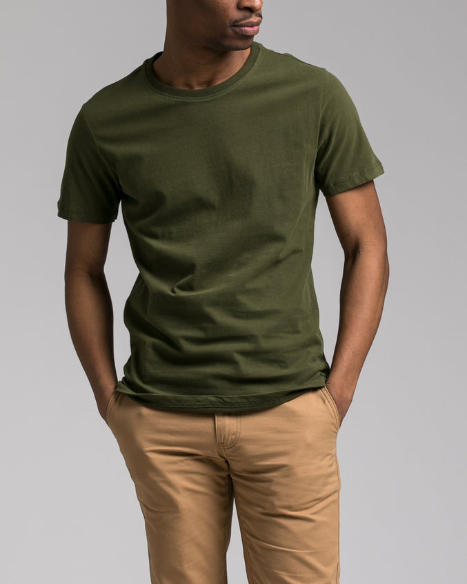Slim Tee - Color: Olive | Green