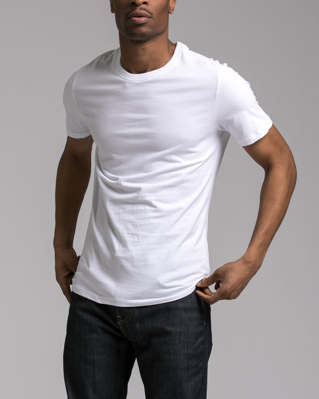 Slim Tee - Color: White | White