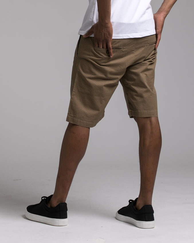 Micro Dot Short - Color: Khaki | Beige