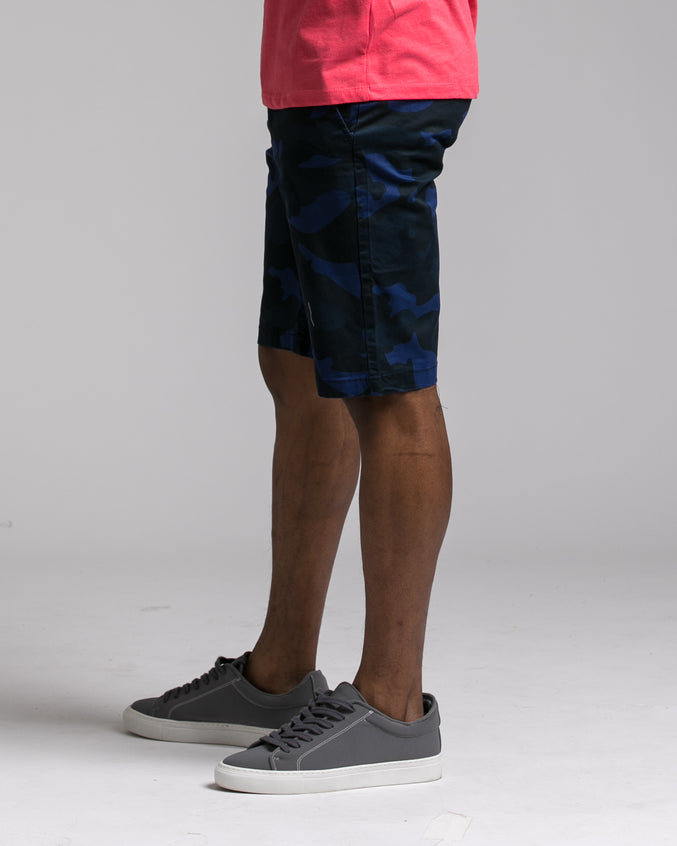Camo Short - Color: Navy | Blue