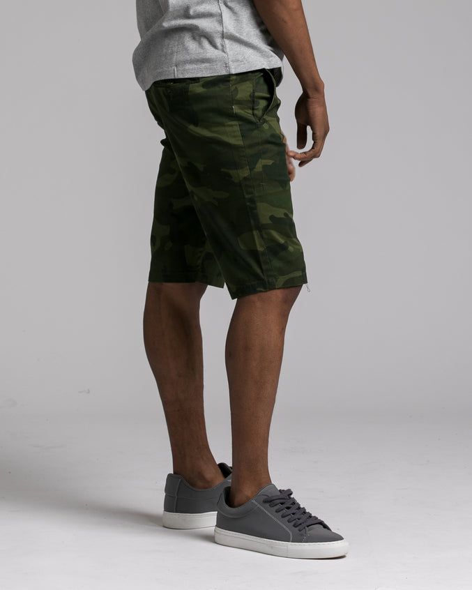 Camo Short - Color: Olive | Olive