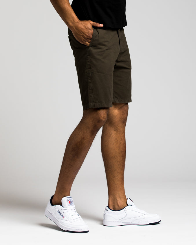 9 Inch Chino Short - Color: Charcoal | Gray
