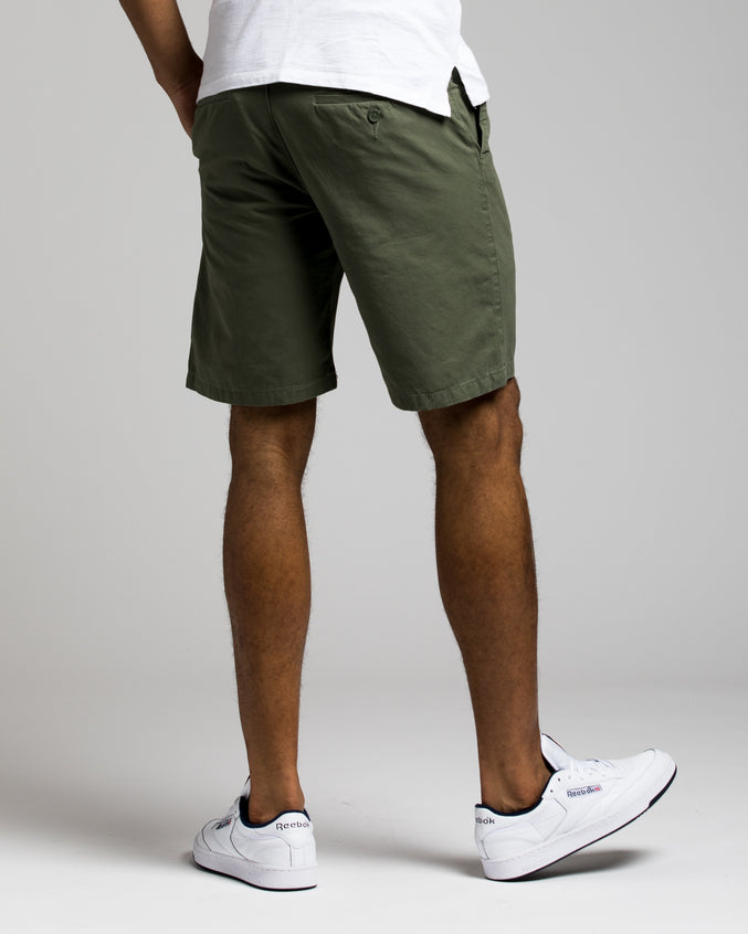 9 Inch Chino Short - Color: Olive | Green