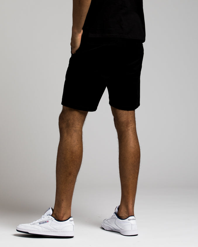 7 Inch Chino Shorts - Color: BLACK | Black
