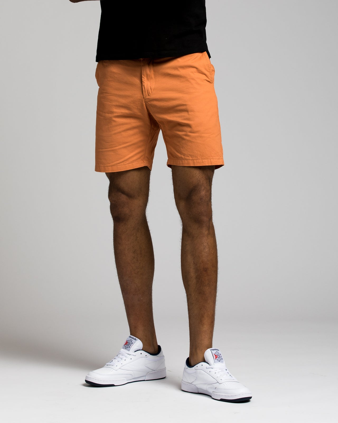 7 Inch Chino Shorts - Color: Faded Orange | Orange