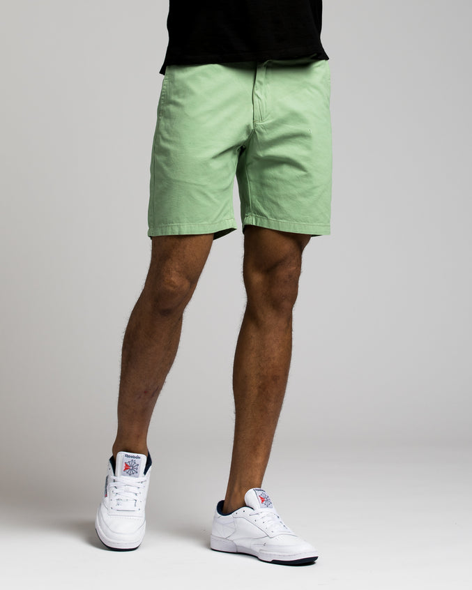 7 Inch Chino Shorts - Color: Green Bay | Green