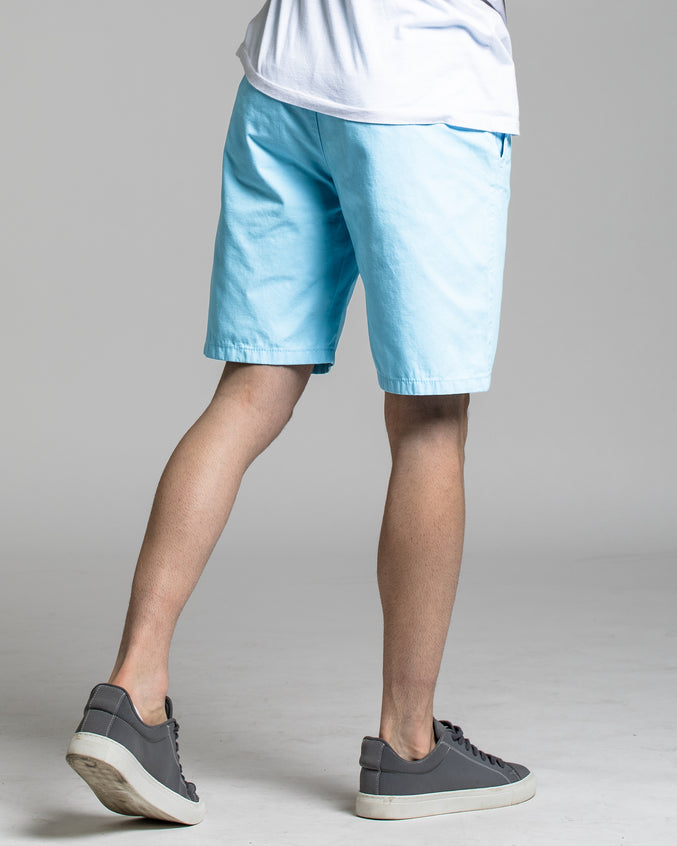 9 Inch Chino Shorts - Color: Baby Blue | Blue
