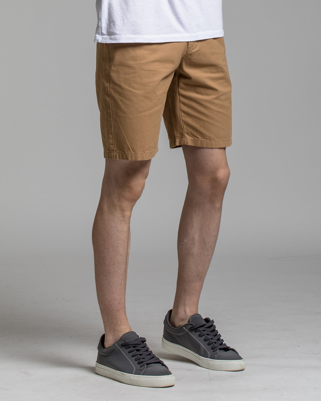 9 Inch Chino Short - Color: Khaki | Beige
