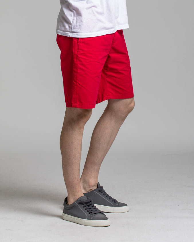 9 Inch Chino Shorts - Color: NANTUCKET RED | Red