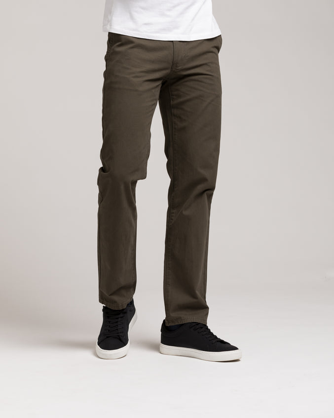 Slim Chino Pant - Color: Charcoal | Gray