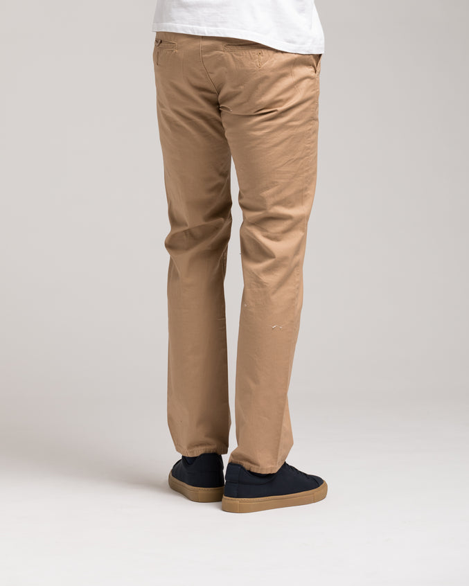 Slim Chino Pant - Color: Khaki | Beige