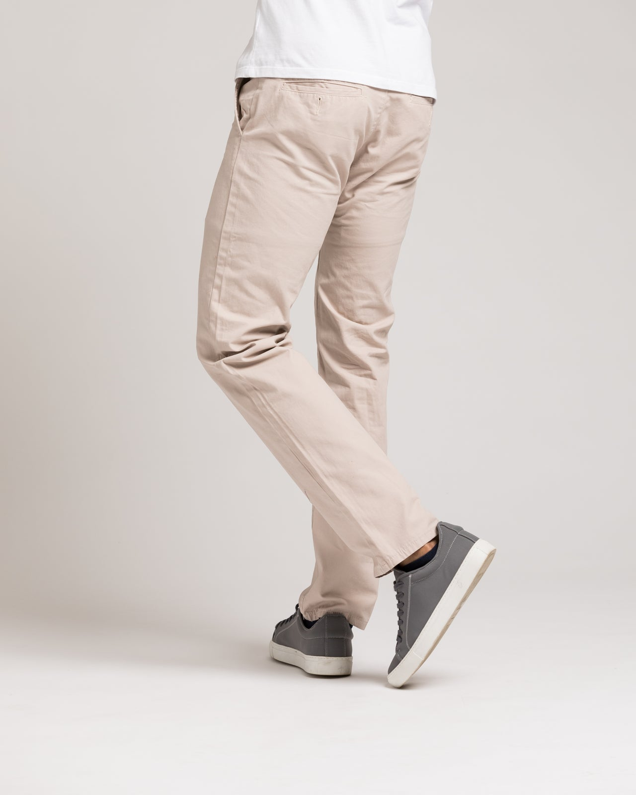Slim Chino Pant - Color: Stone | Beige